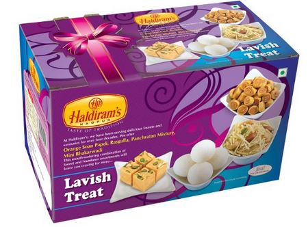 Haldiram's Lavish Treat Diwali Sweets Gift Pack
