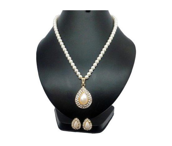 Bling N beads pearl