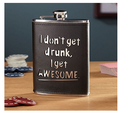 Hip Flask set for birthday