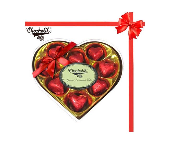 chocolik heart shape