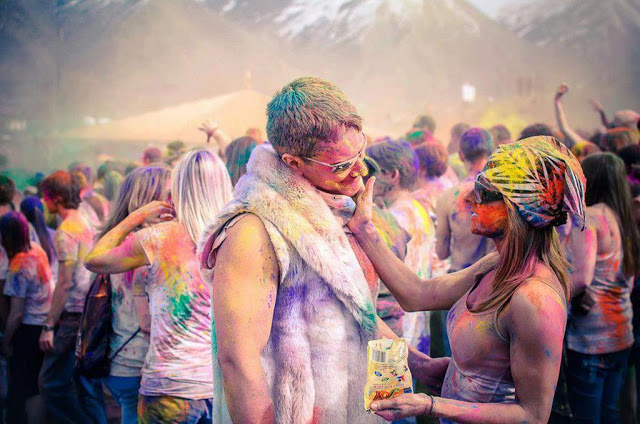 holi in foreign