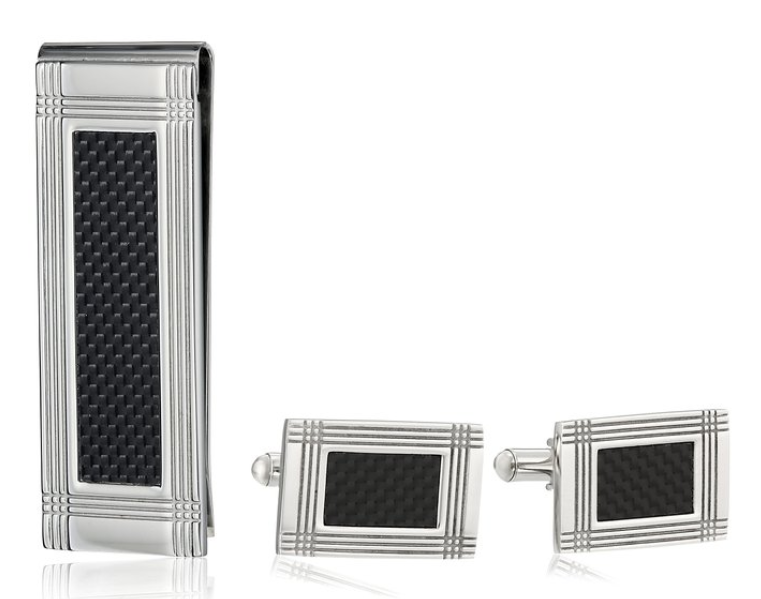 Money clip and cuff links Christmas gifts for boys