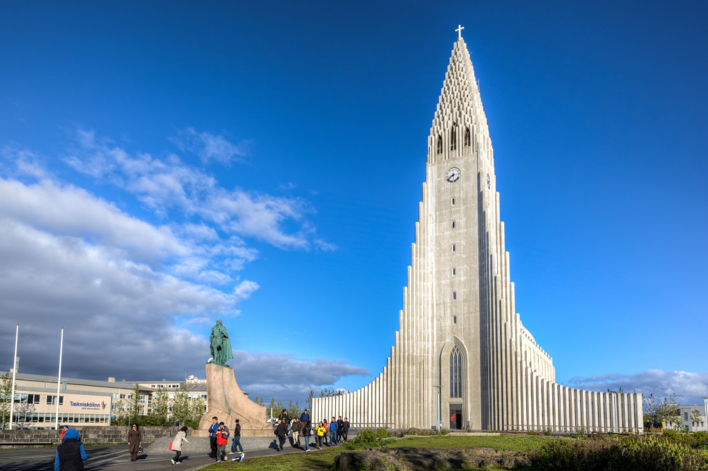 The-Church-of-Hallgrimur-Reykjavik-Iceland