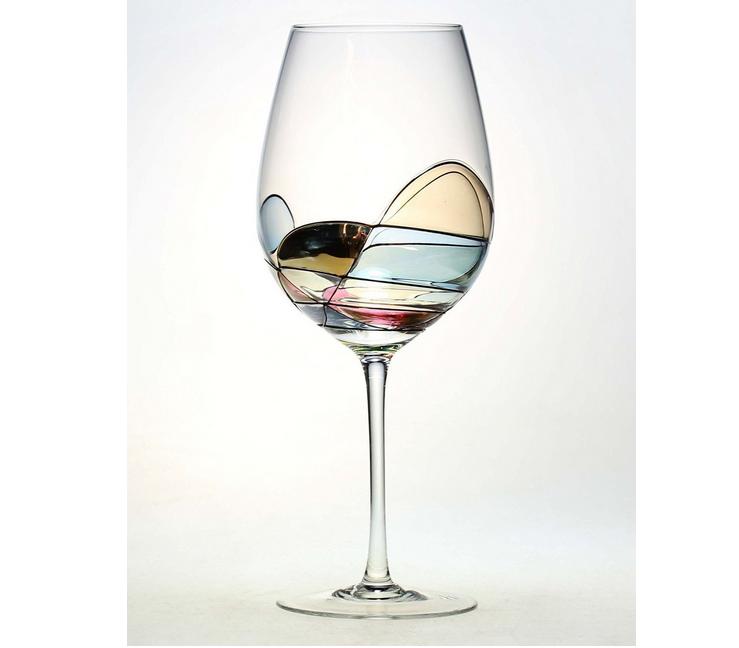 Wine glass anniversary gifts