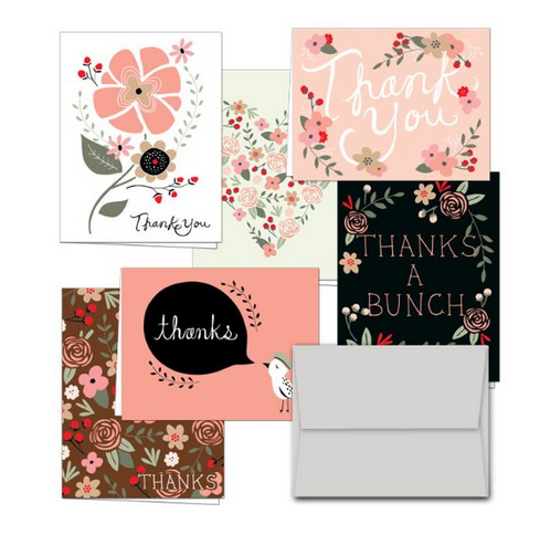 Blank Cards thank you gift ideas for her