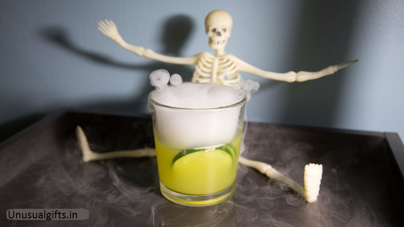 Hard drinks produced specially for Halloween