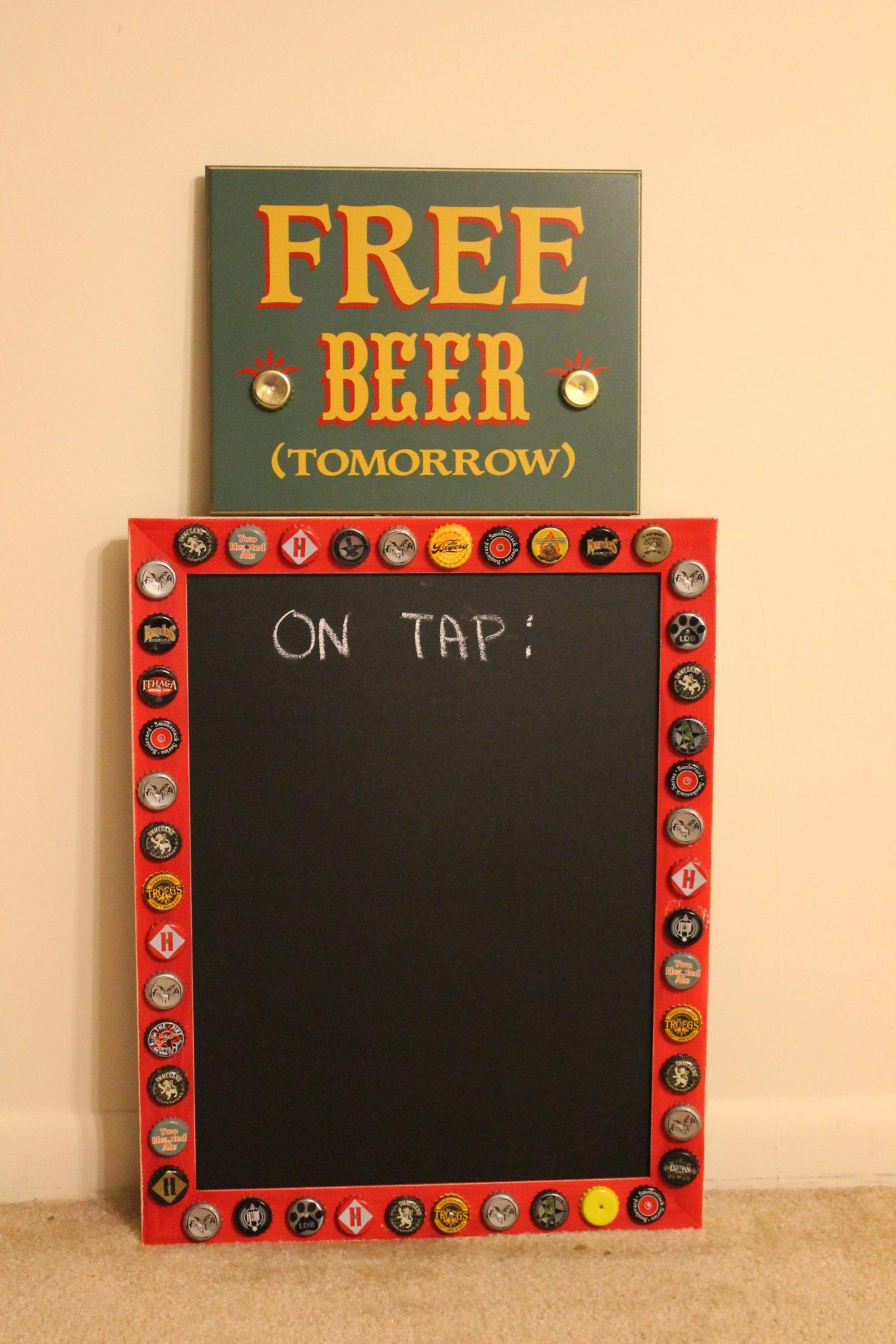 Home Brew Chalkboard