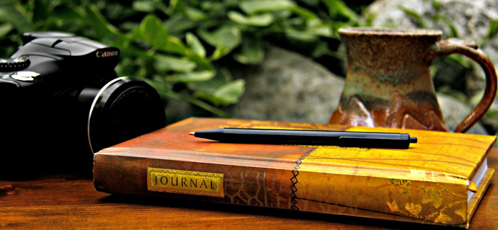 Journals and pens