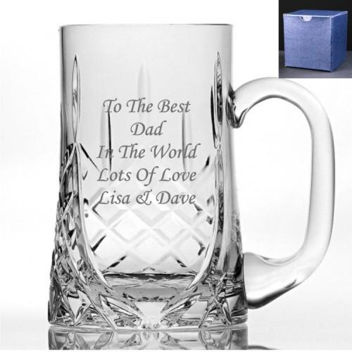 Personalized Glass Tankard