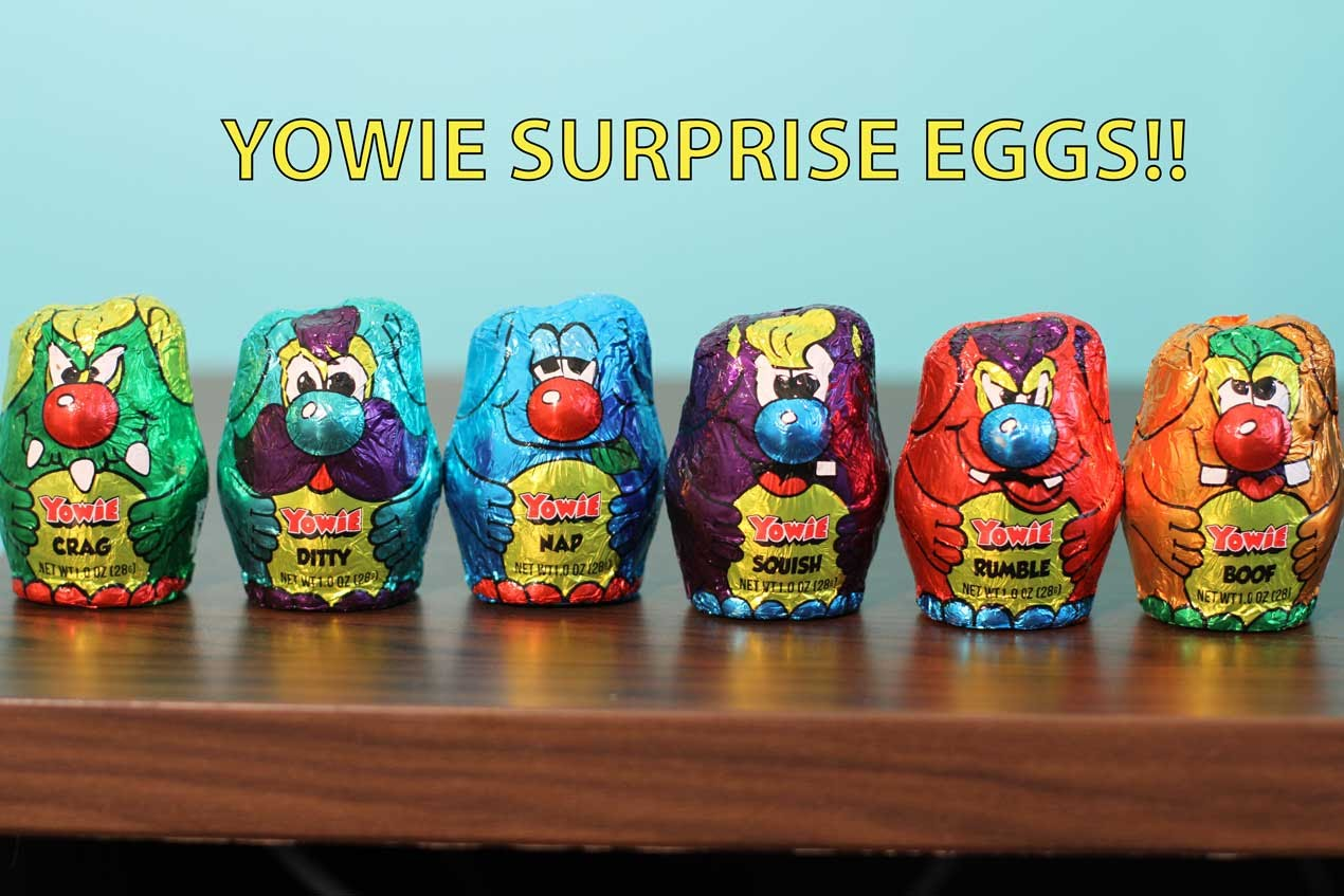 Yowie Surprise Chocolate Egg