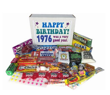 candy box unique birthday gift