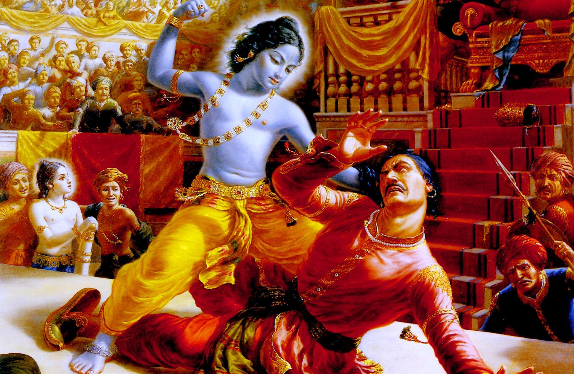 Krishna-And-Kans