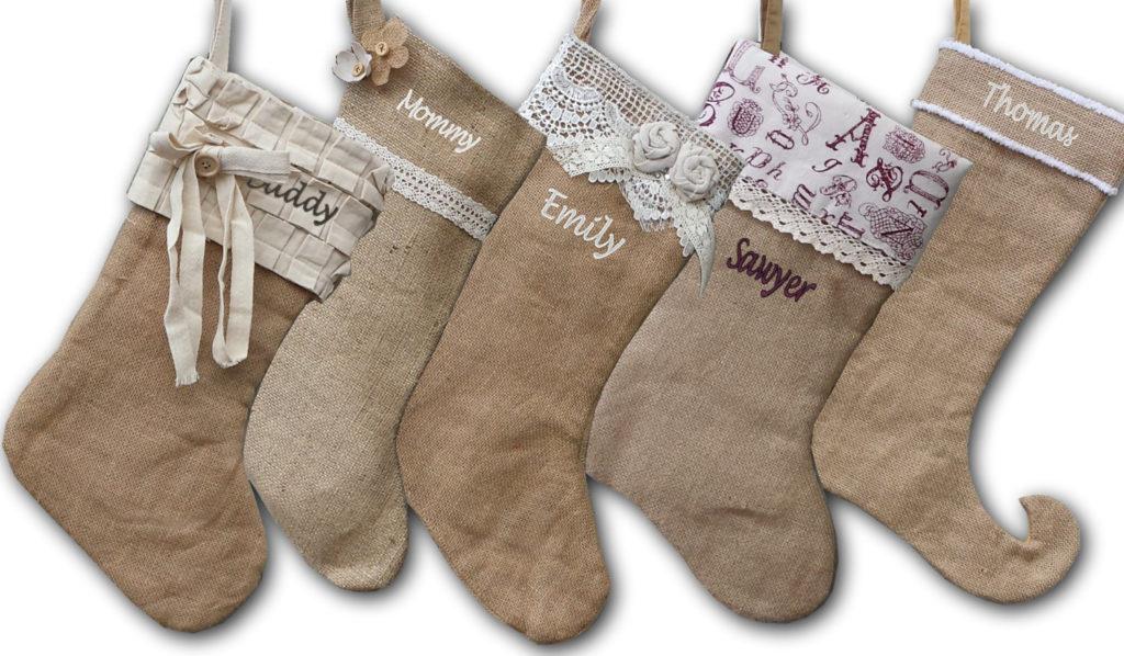Lace Stockings christmas