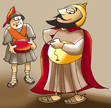 Alexander the Great and King Porus