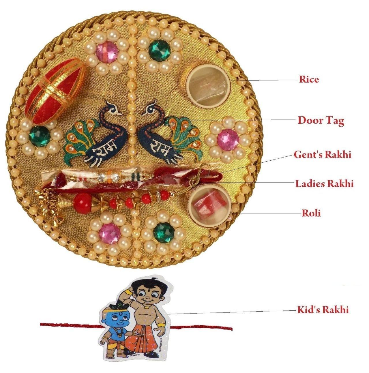 Complete Raksha Bandhan Thali set
