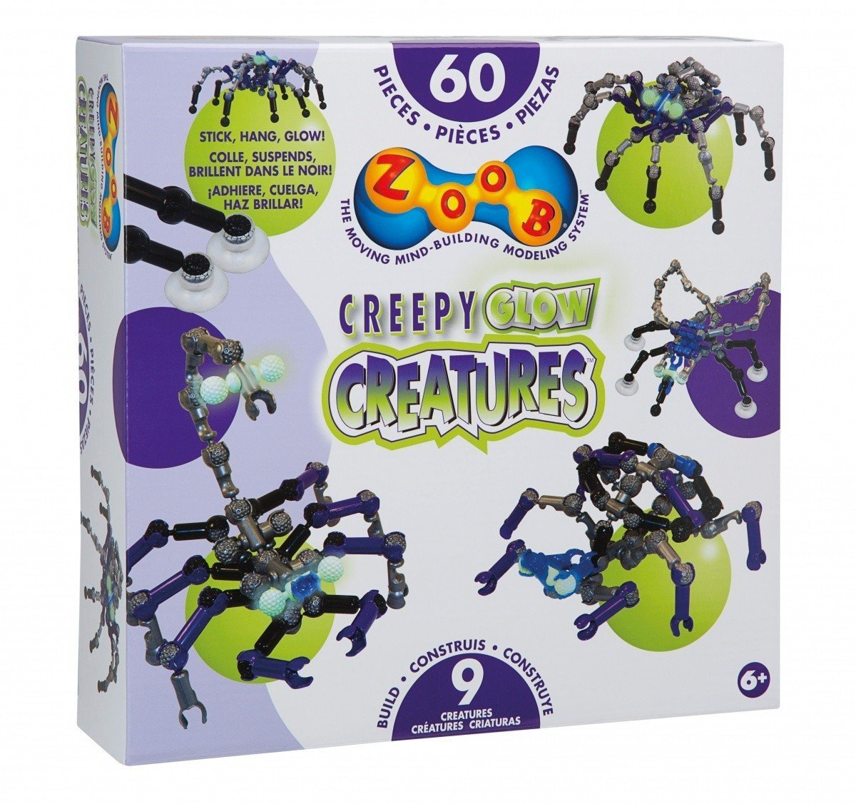 Creepy glow creatures