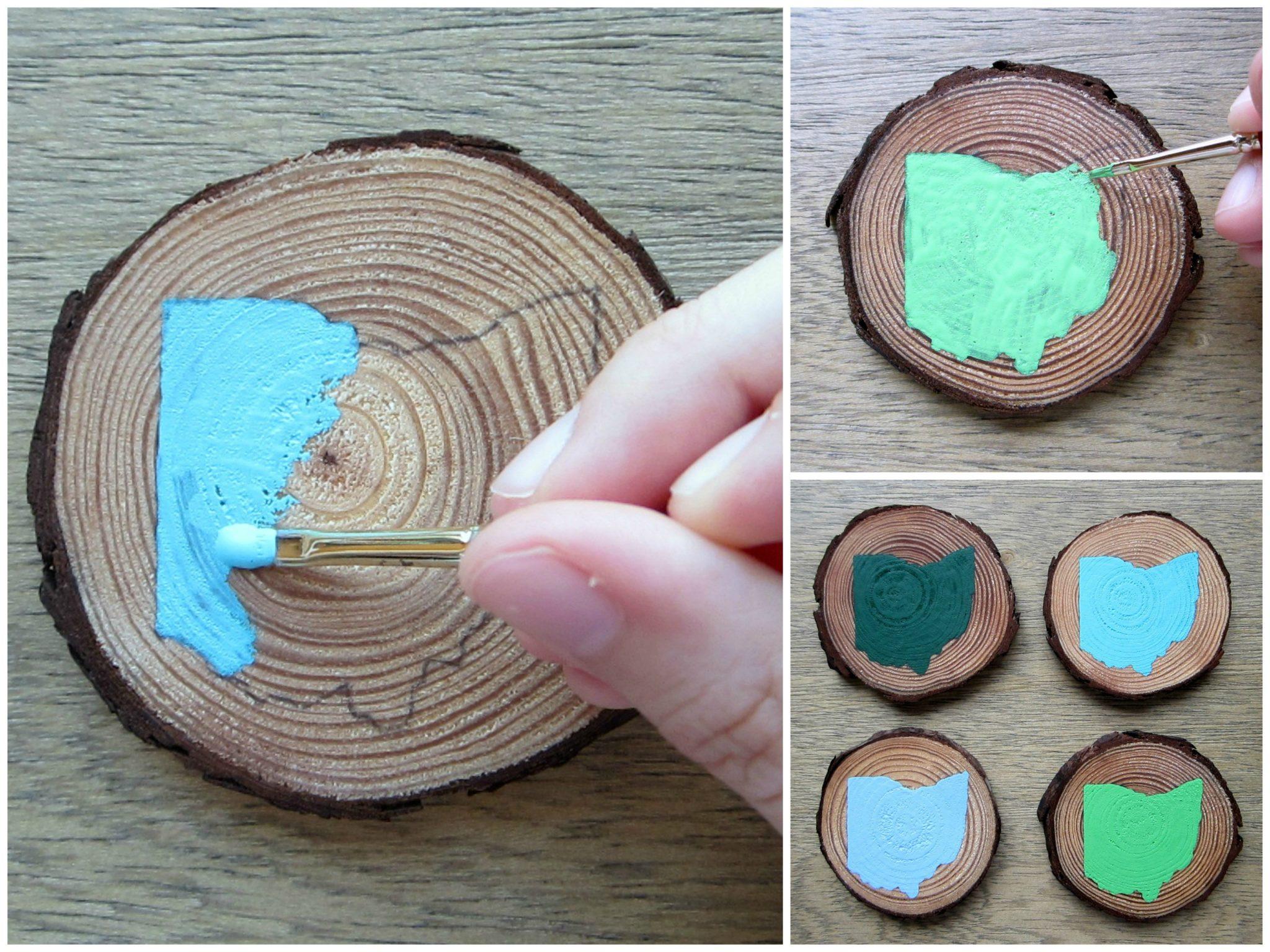 Decorate using mini trees
