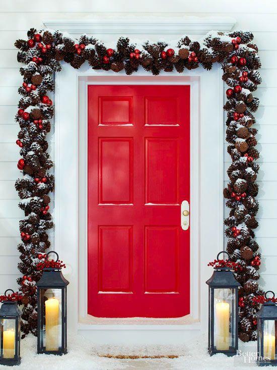 Door frame garland