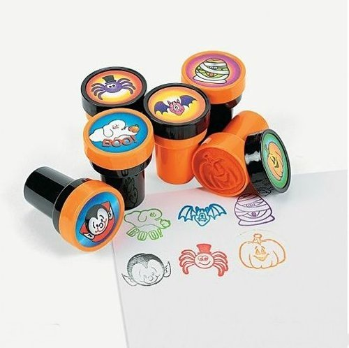 Fun express Halloween stamps