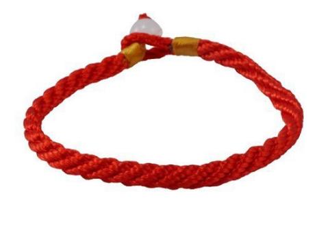 Handmade red string bracelet