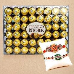 IGP Rakhis with Ferrero Rochers