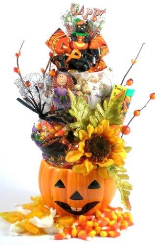 Jack-O-Lantern gift basket