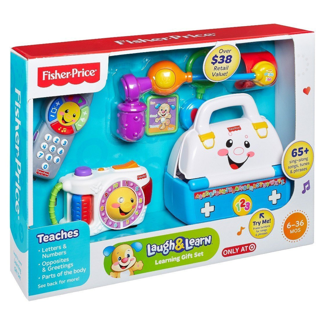 Laugh and learning gift set