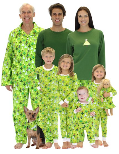 Matching Pajamas for your entire family