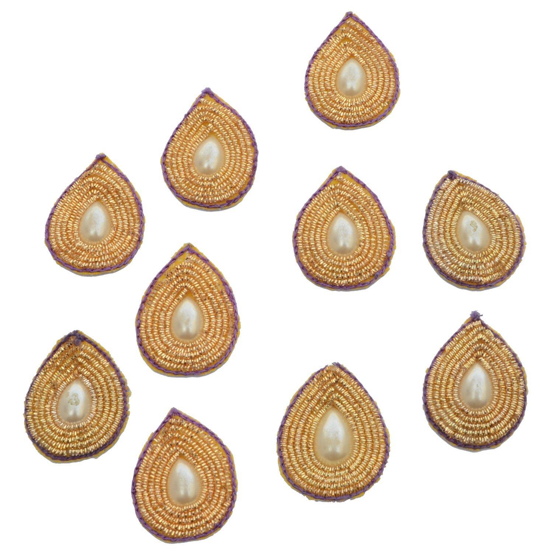 Rakhi with zari motifs