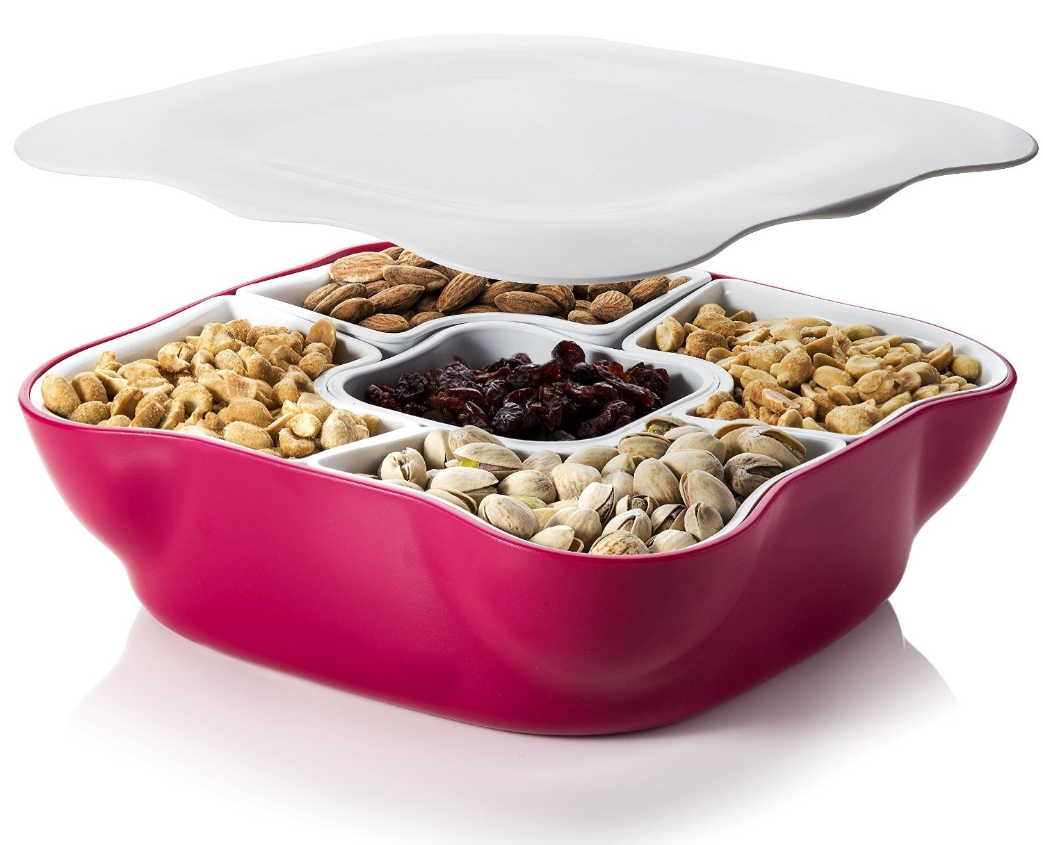 Snack serving tray-1