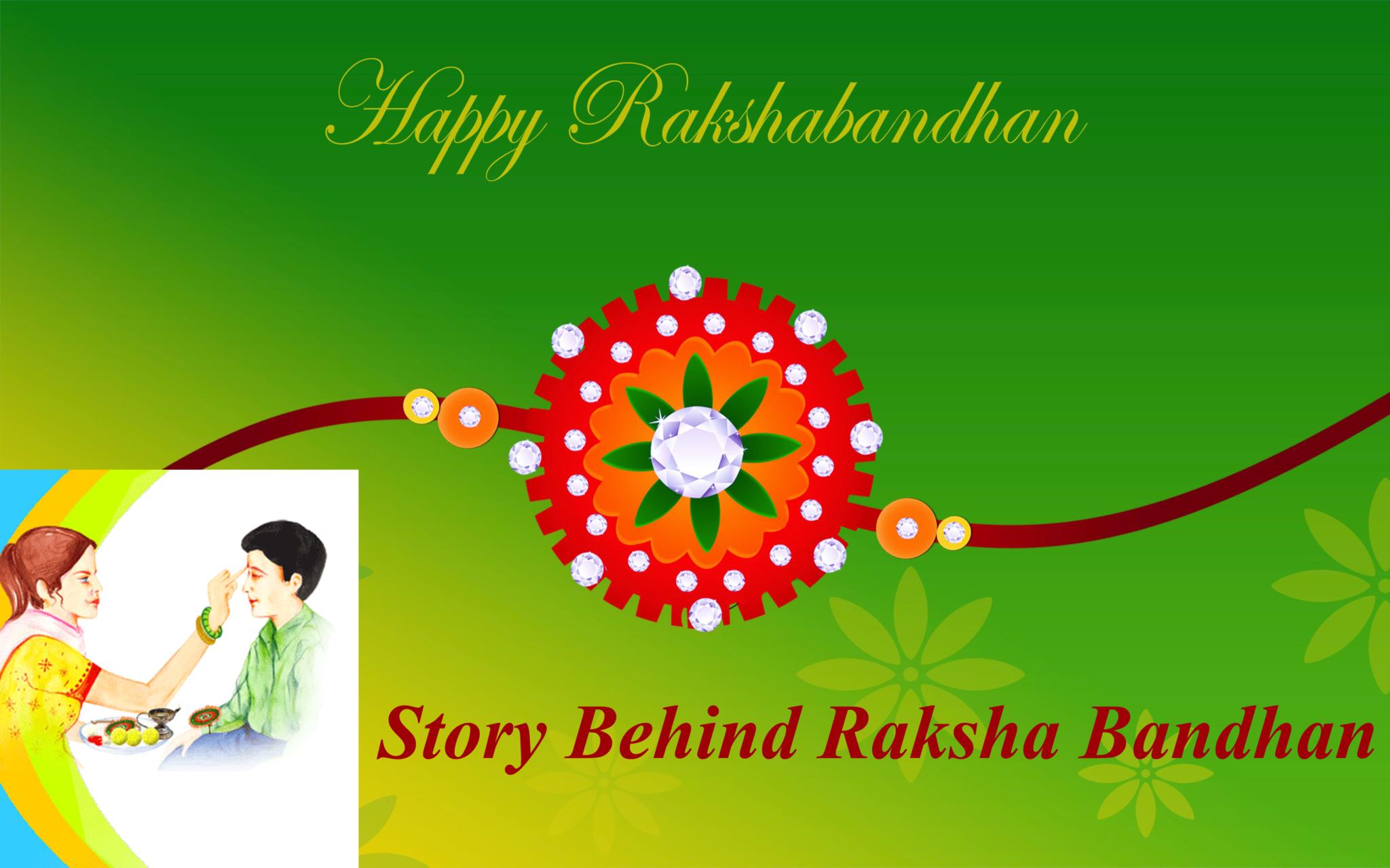 Story Behing Raksha Bandhan