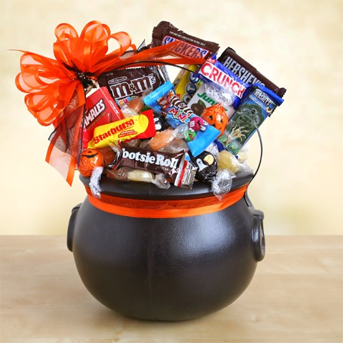 What should find place in your Halloween gift basket