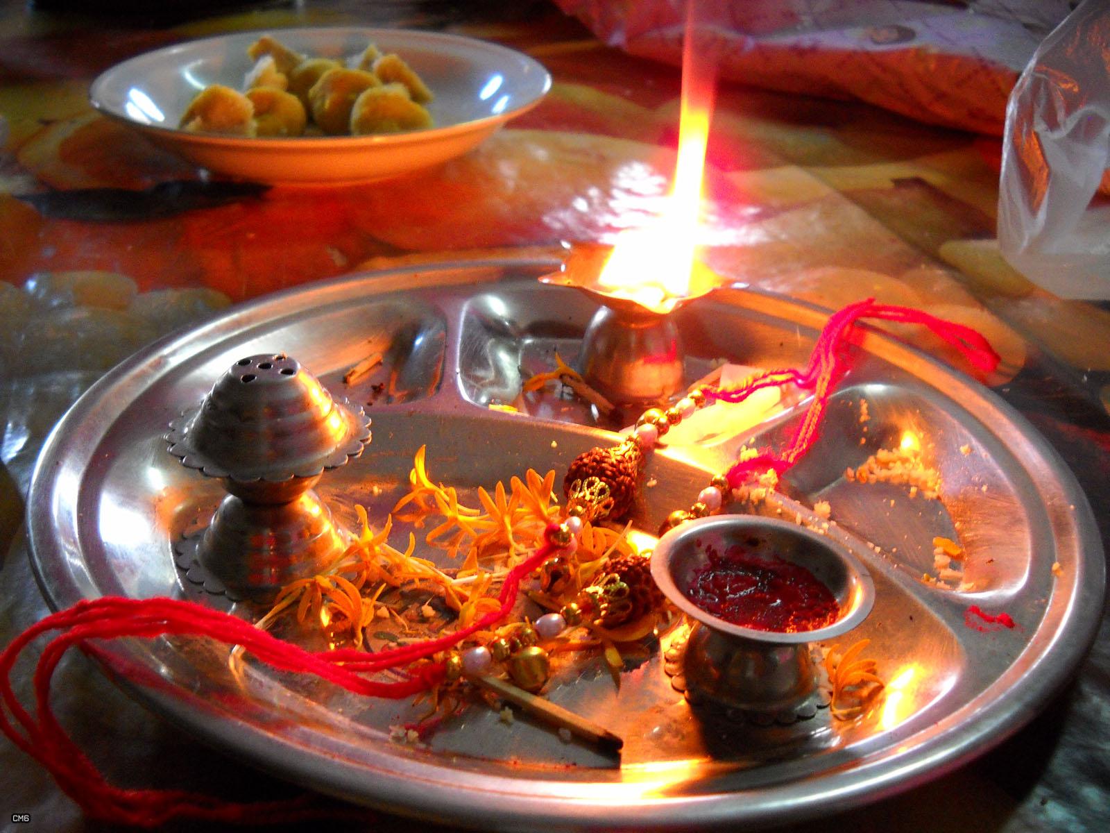 celebrating Rakhi