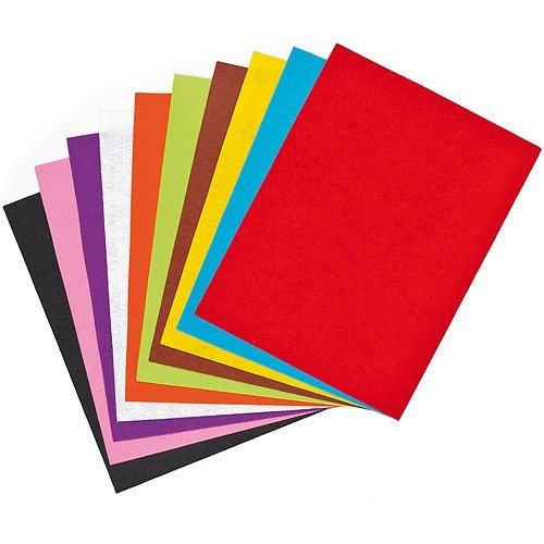 color felt papers