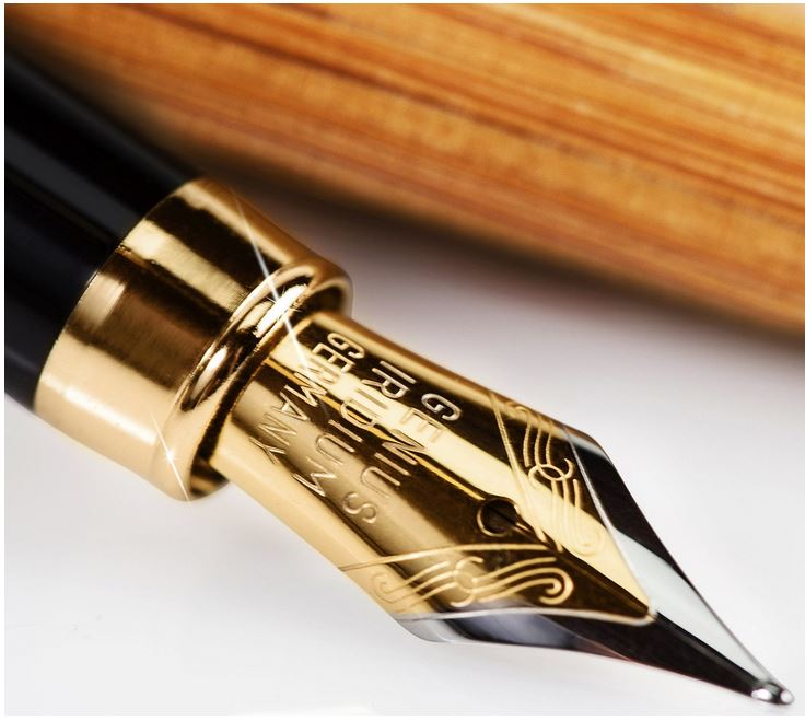 handcrafted natural pen