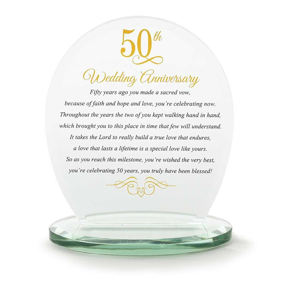 Ideas Wedding Anniversary Gift List a list of golden wedding ...