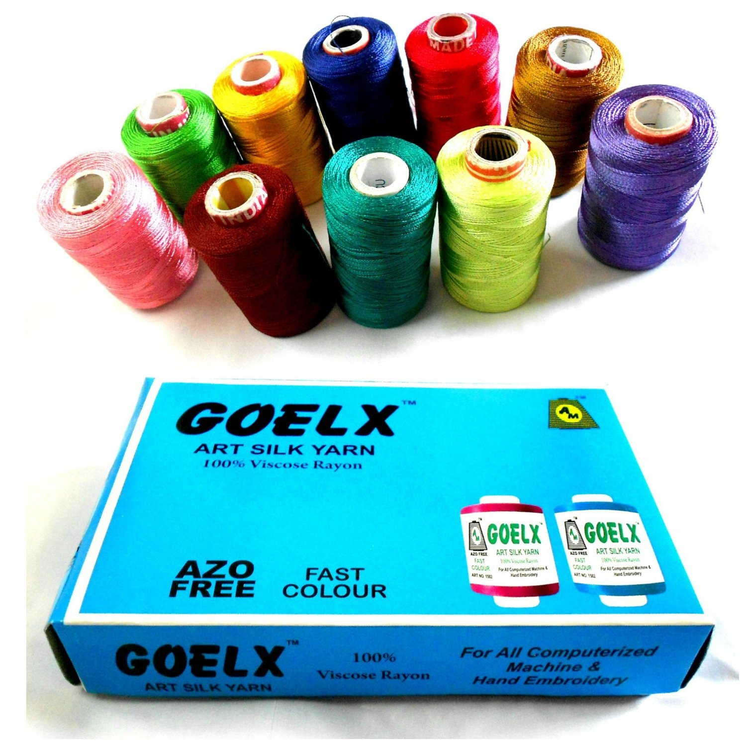 silk threads in multiple colors-1
