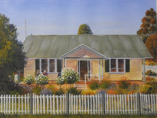 Personalized House portrait