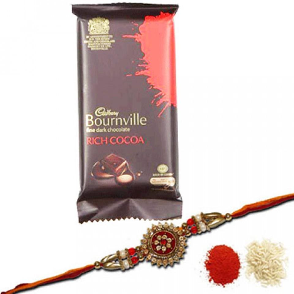cadbury Bournville and rakhi
