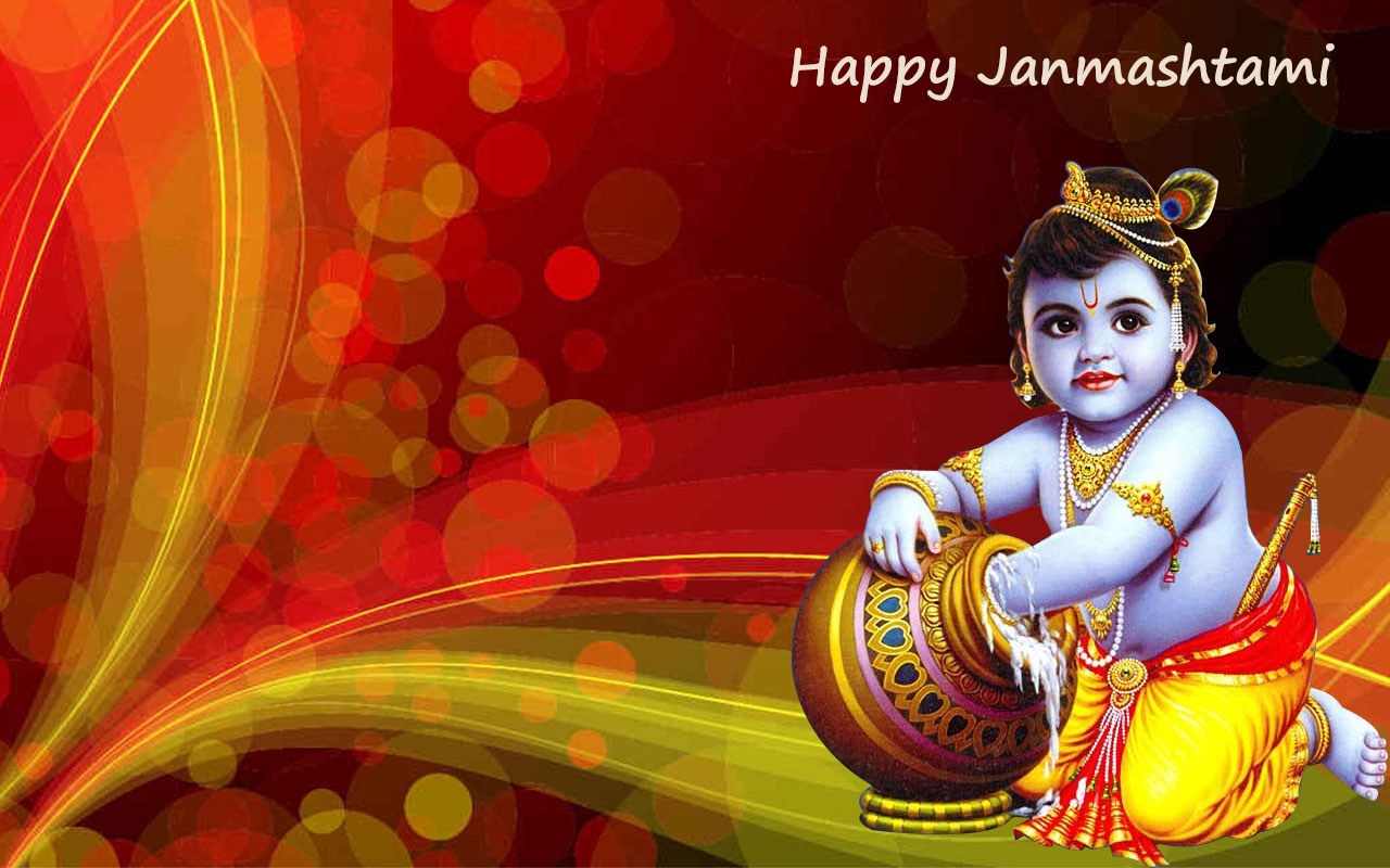 janmashtami  here comes the makhan chor