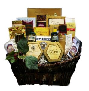 Seasons greetings basket