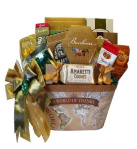 gourmet appreciation basket