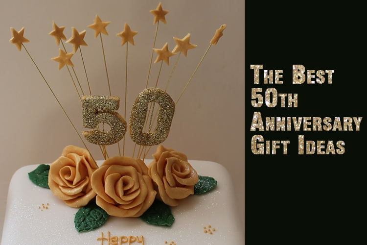 Fiftieth Wedding Anniversary Gifts: The Best 50th Anniversary Gift Ideas