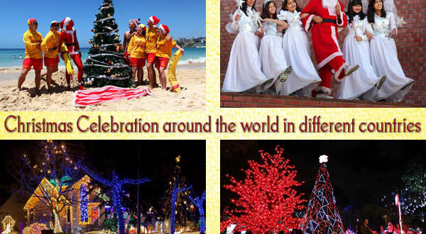 Christmas Celebration around the world in different countries - Unusual Gifts