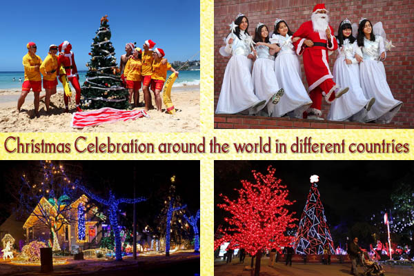 Christmas Celebration Around The World In Different