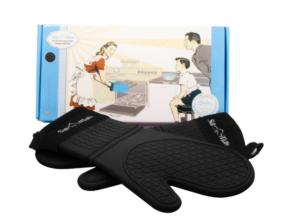 Kitchen heat gloves