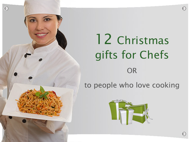 12 Christmas gifts for chefs or to people who love cooking - Unusual ...