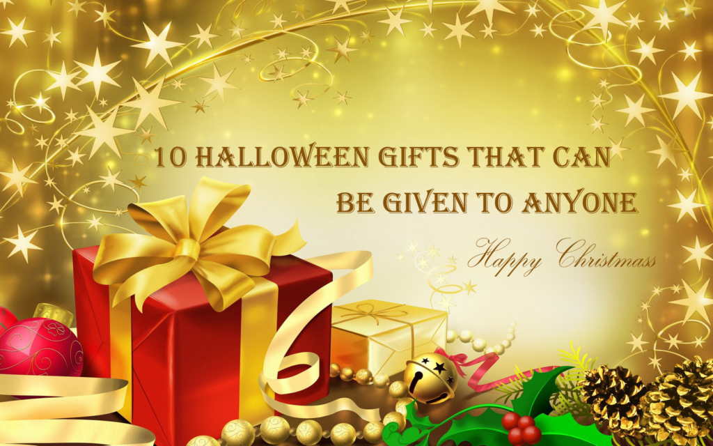 10 Halloween Gifts That Can Be Given To Anyone