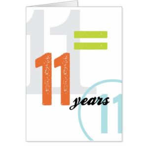 11 year anniversary gift