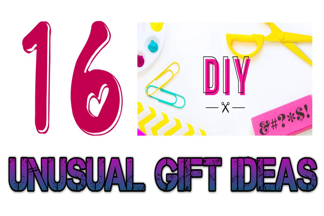 16 diy unusual gift ideas for your family unusual gifts for Unusual quirky gifts